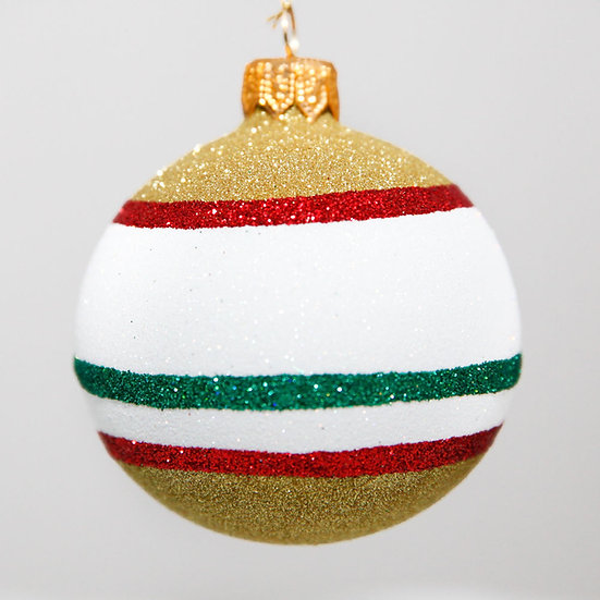 "#2091 - Thomas Glenn ""Shiny Bright"" Mini Ball Christmas Ornament"