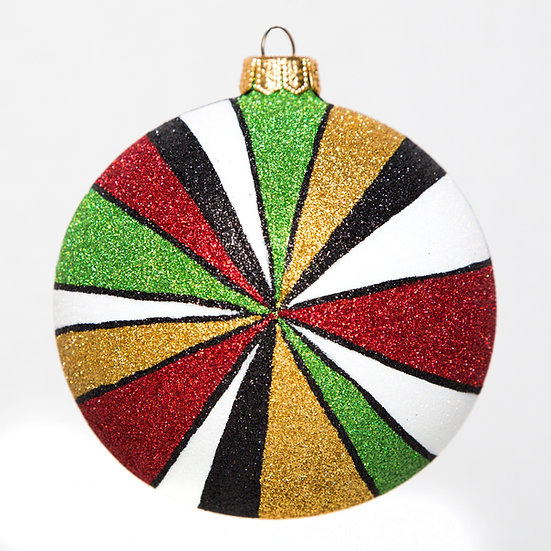 "#1603Xmas - Thomas Glenn ""Christmas Prism"" Ball Ornament"