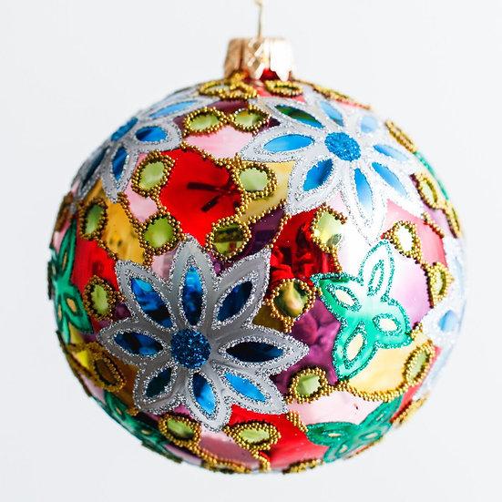 """#91 - Thomas Glenn """"Orange Blossom"""" Ball Ornament"""