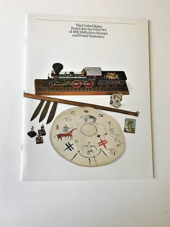 """Stamps """"USPS 1982 Definitive Yearbook"""" Book & Mint Stamps"""