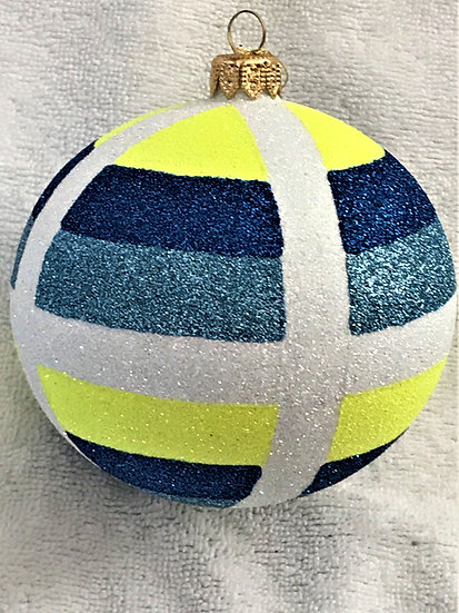 "#1821 - Thomas Glenn ""Alaska"" Ball Christmas Ornament"