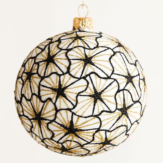 "#1841 - Thomas Glenn ""Starburst"" Ball Ornament"
