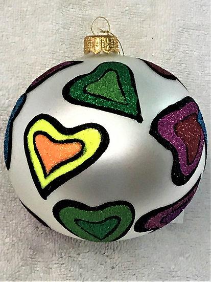 "#1703 - Thomas Glenn ""Delta"" Ball Christmas Ornament"