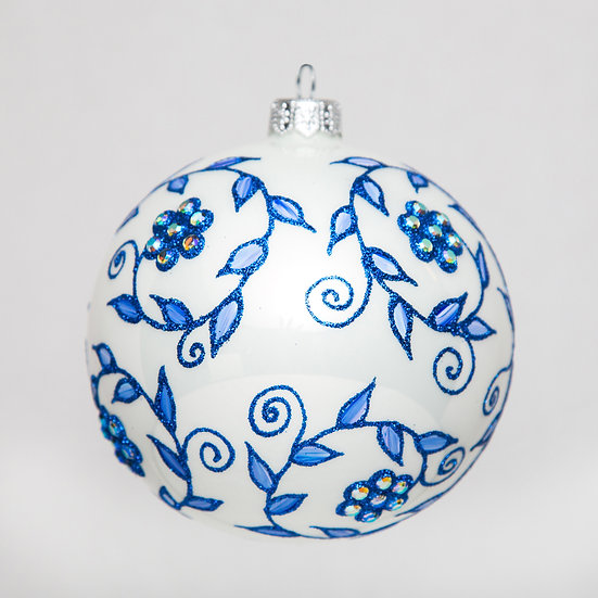 """#539 - Thomas Glenn """"Vine"""" Ball Ornament"""