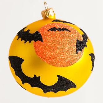 "#1888 - Thomas Glenn ""Batty"" Halloween Ball Ornament"