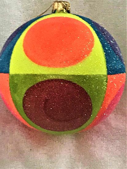 "#770 - Thomas Glenn ""Very Now"" Ball Christmas Ornament"