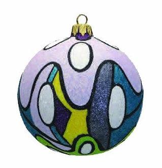"#727 - Thomas Glenn ""Love the 60s"" Ball Ornament"