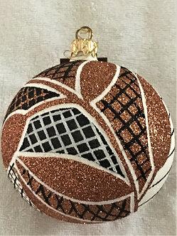 "#507 - Thomas Glenn ""Africa - Leaves"" Ball Christmas Ornament"