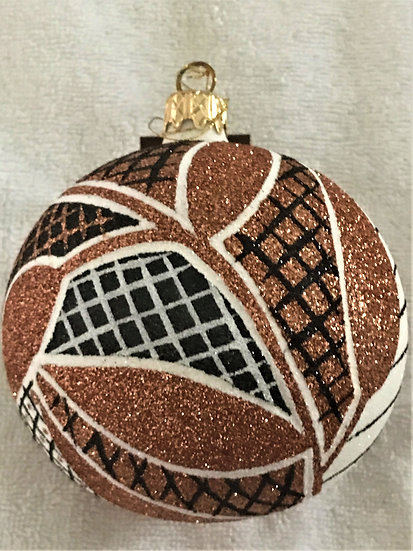 "#507 - Thomas Glenn ""Africa - Leaves"" Ball Christmas Ornament"