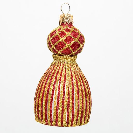 "#1656R/GD - Thomas Glenn ""Red and Gold Tassel""  Ornament"