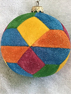 "#725 - Thomas Glenn ""Sobe"" Ball Christmas Ornament"