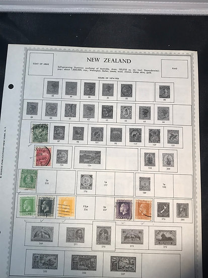 """Stamps """"New Zealand"""" Pre-1955 Collection"""