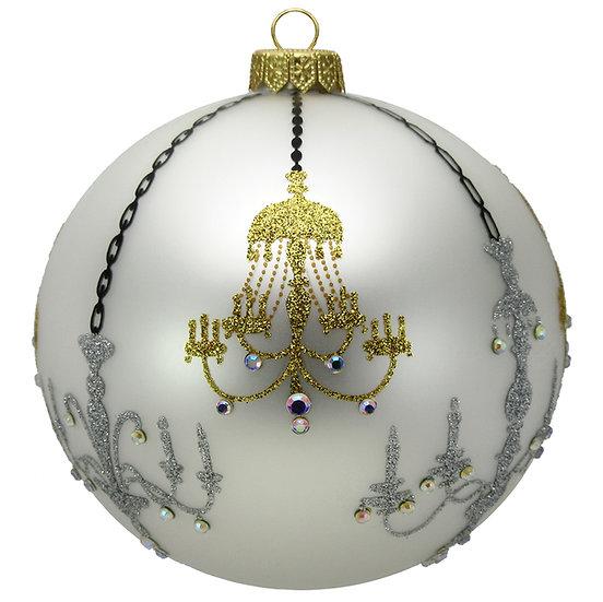 "#1615 - Thomas Glenn ""Chandelier"" Ball Ornament"