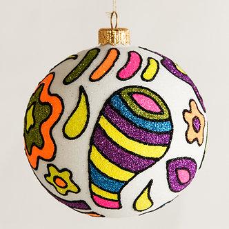"""#1810 - Thomas Glenn """"Dream Within a  Dream"""" Ball Ornament"""