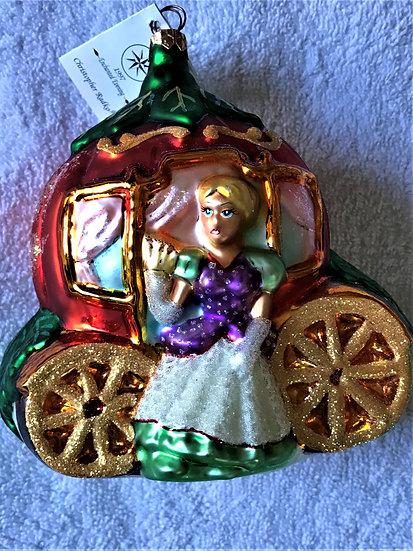 "Christopher Radko -""Enchanted Evening"" Molded Christmas Ornament"