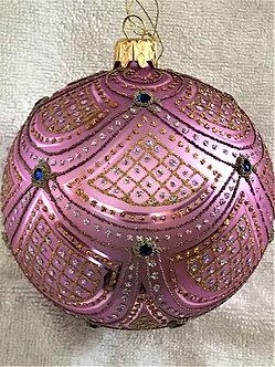 "#632LV - Thomas Glenn ""Aurora - Lavender"" Ball Christmas Ornament"