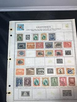 "Stamps ""Guatemala & Haiti"" Pre-1960 Collection"