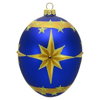 "#1647 - Thomas Glenn ""Christmas Star"" Faberge Egg Ornament"