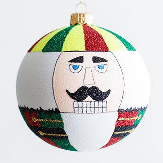 "#1945 - Thomas Glenn ""Nutcracker"" Ball Ornament"