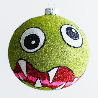"""#1975 - Thomas Glenn """"It Came From Outer Space"""" Halloween Ball Ornament"""