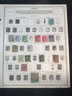 """Stamps """"India"""" Pre-1960 Collection"""