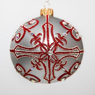 """#2065 - Thomas Glenn """"Mozart"""" Ball Christmas Ornament"""
