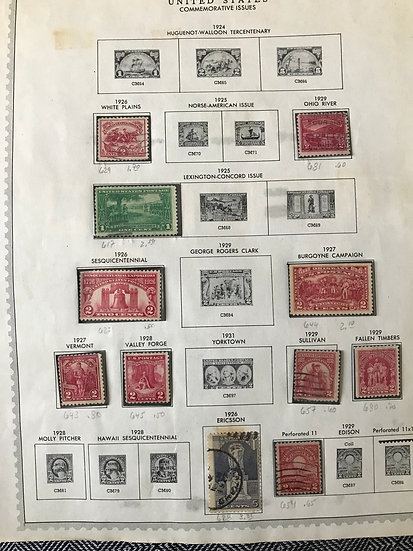 "Stamps ""United States"" Pre-1961 Collection"