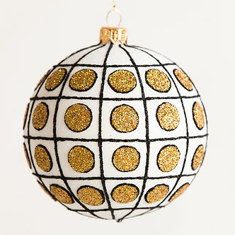 "#1818 - Thomas Glenn ""Chic"" Ball Ornament"
