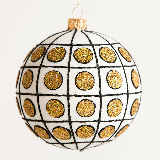"#1818 - Thomas Glenn ""Chic"" Ball Ornament"