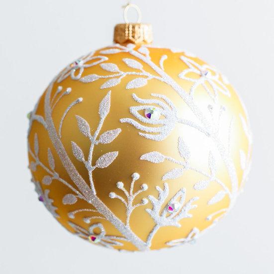 "#1958 - Thomas Glenn ""Golden Age"" Ball Ornament"