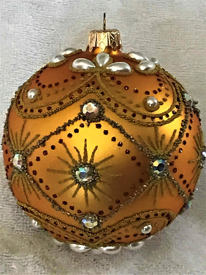 "#851 - Thomas Glenn ""Gypsy"" Ball Christmas Ornament"