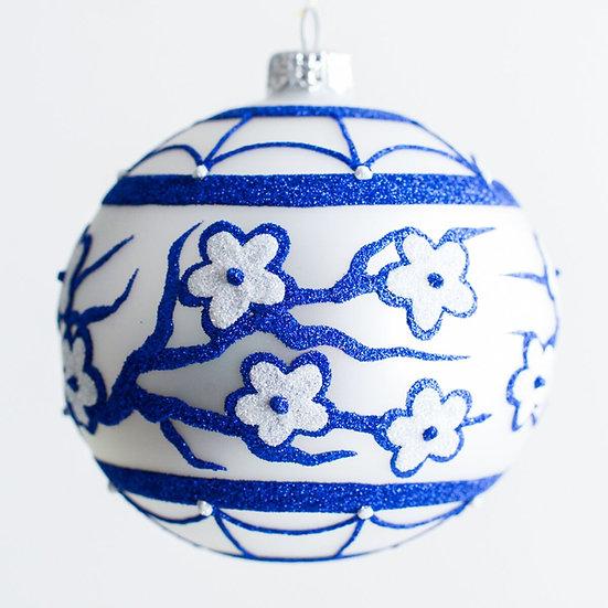 "#1966 - Thomas Glenn ""Asuka Garden"" Ball Ornament"