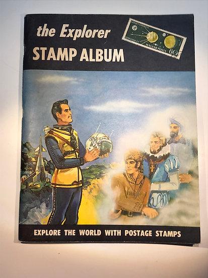 "Stamp Album ""H.E. Harris, Publisher"" 1964 Edition"