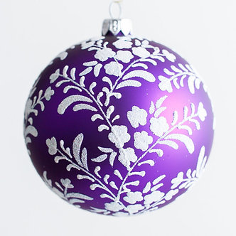 """#1971 - Thomas Glenn """"Kofuku - Happiness"""" Ball Ornament"""