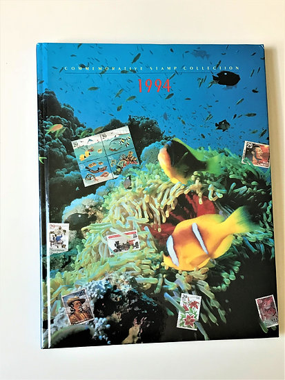 """Stamps """"USPS 1994 Commemorative Yearbook"""" Book & Mint Stamps"""