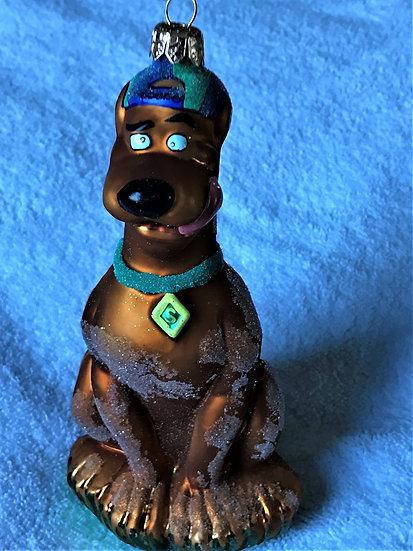 "Christopher Radko - ""Scooby Doo"" Molded Christmas Ornament"