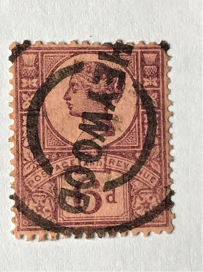 """Stamps """"Great Britain #119"""" 6p violet, rose - Used"""