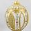 """Thumbnail: #603 - Thomas Glenn """"Icon"""" Egg Ornament"""