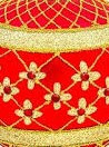 635R  - Coronation - Red - Detail