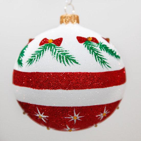 "#2032 - Thomas Glenn ""Holiday Traditions"" Ball Christmas Ornament"