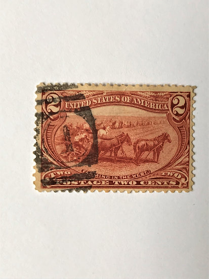 """Stamps """"US 1898 Trans Mississippi Expo Issue Scott #286"""" 2c copper red"""