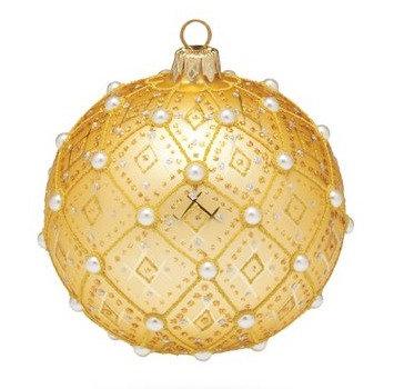 "#634GD - Thomas Glenn ""Gold Pearl"" Ornament"