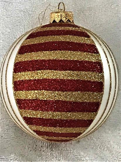 "#1606 - Thomas Glenn ""Sunset"" Ball Christmas Ornament"