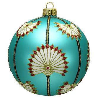 """#1626 - Thomas Glenn """"Lotus"""" Ball Ornament"""