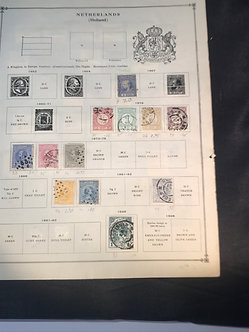 """Stamps """"Netherlands - Holland"""" Pre-1940 Collection"""