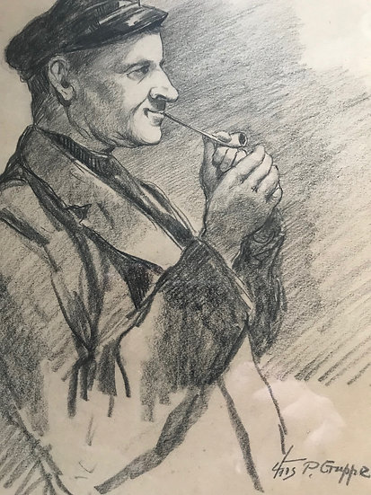 Charles Gruppe Pencil Sketch