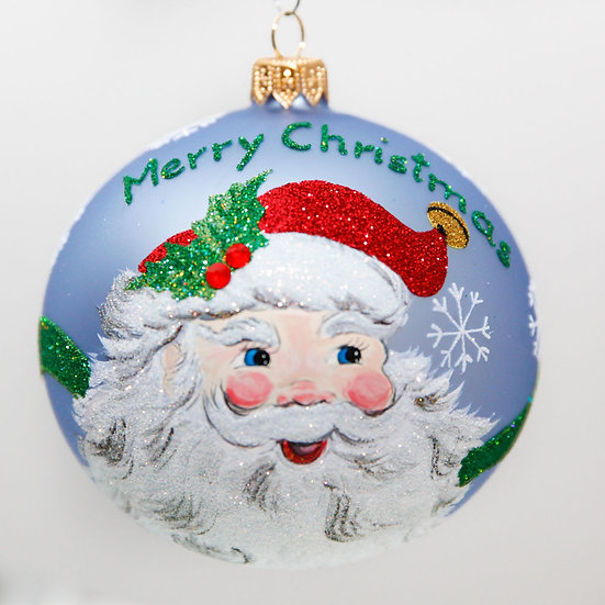 "#2058 - Thomas Glenn ""Jolly Good"" Ball Christmas Ornament"