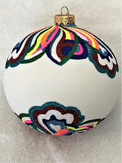 "#1907 - Thomas Glenn ""Cosmic"" Ball Christmas Ornament"