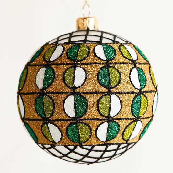 """#1819 - Thomas Glenn """"Sonata"""" Ball Ornament"""