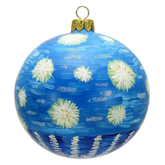 "#1619 - Thomas Glenn ""Starry Night"" Ball Ornament"